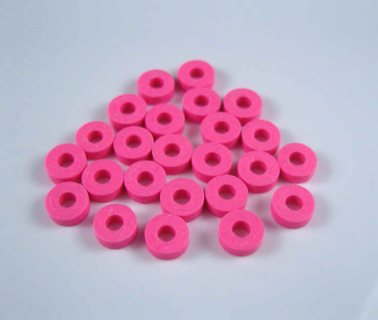 FIMO Slice Beads (sold in per package of 100 pcs)