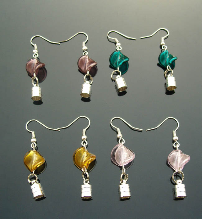 Outstanding Premade Earrings(Sold in Per Pairs,5MM Caps,Assorted Murano Glass  650 x 706 · 72 kB · jpeg