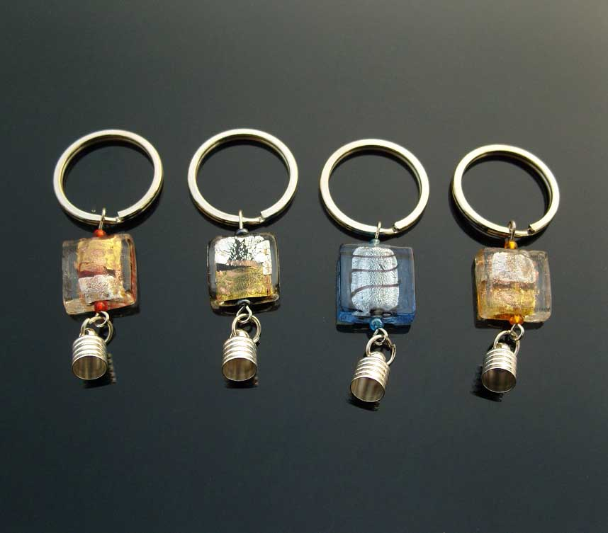 Lampwork glass necklacelampwork glass pendantlampwork glass premade keychains6mm capsassorted murano glass beads aloadofball