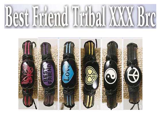 Best Friend Tribal Bracelets(sold in per package of 6 pcs, assorted designs)