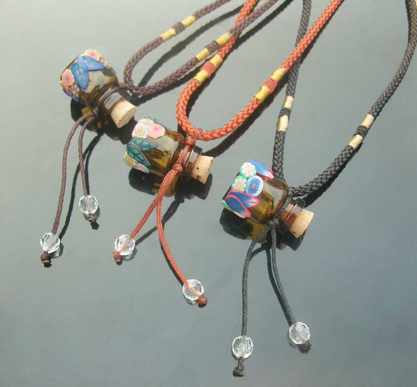 FIMO Aroma Necklaces (Assorted Designs)