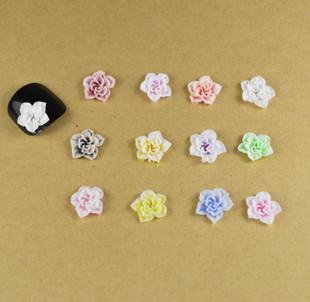 Resin Flower Embellishments Jewelry Making Tube Pendant