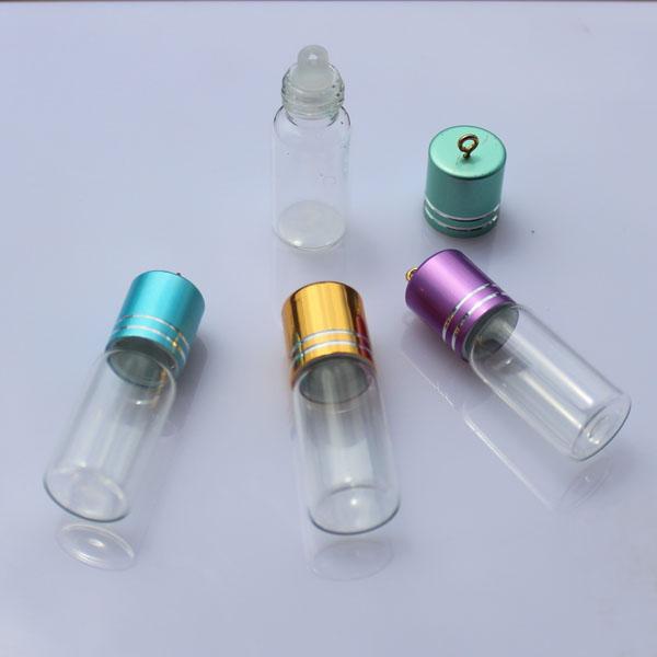 Religious Flat Acrylic: Aroma Vials (42MMX15MM,3.5ML)-8MM Big Vials-Glass Vials
