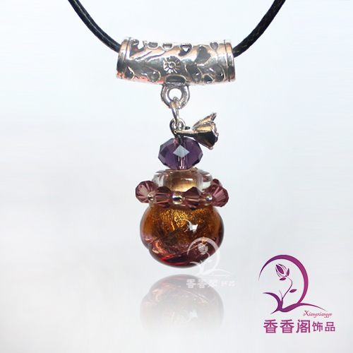 Murano Glass Perfume Necklaces (with cord
