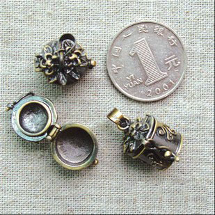 15MM Bronze Cylinder Locket
