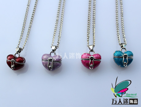Perfume Locket Necklaces(Assorted Colors)