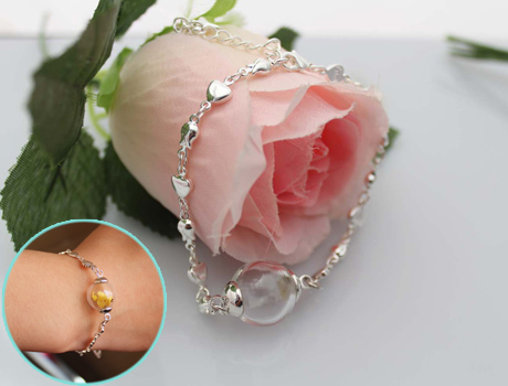 16MM Glass Ball Love Bracelets