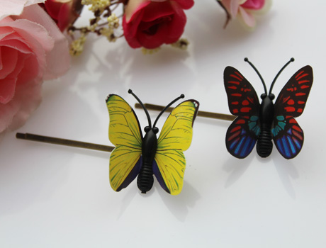 Butterfly Hairpins(Assorted Colors)