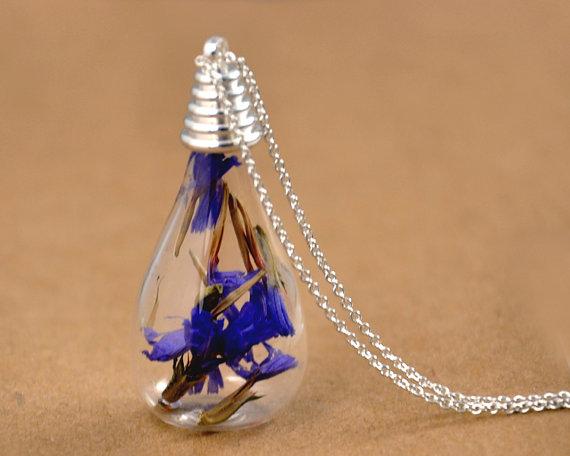 Perfume Bottle Pendant Scent Pendant Vial Aroma Necklaces