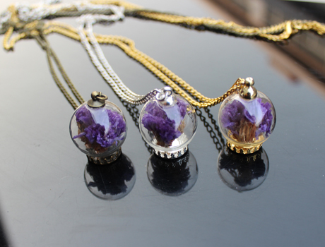 Perfume Bottle Pendant Scent Pendant Vial Aroma Necklaces
