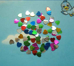 Multicolored Heart(sold in per package of 15G)