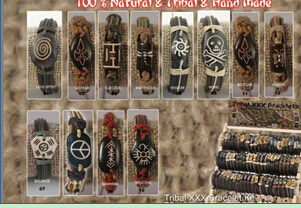 Tribal Bracelet kit(sold in per package of 11 pcs, assorted designs)