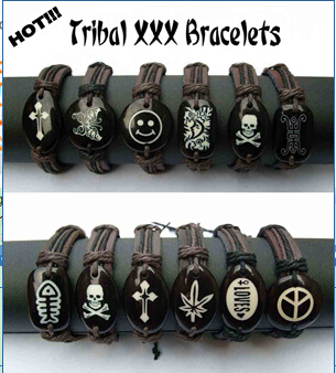 Tribal Bracelets (sold in per package of 12 pcs, assorted designs)