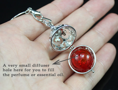 Harmony ball Perfume necklace