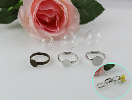 Auto Perfume Display Vials Twilight Pendants Fashion Rings