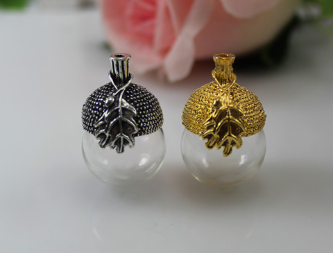 Ethnic Tribal Necklaces Amulet Locket Cases Planter Pet