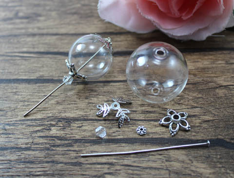 20/25MM Glass Ball Necklace Pendant