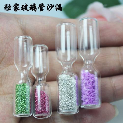 Empty Case Nail Art Tips Plastic Rhinestone Box Name On Rice Crystal Vials Pendants Cellphone