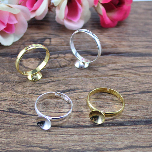 Adjustable Ring with Bowl base