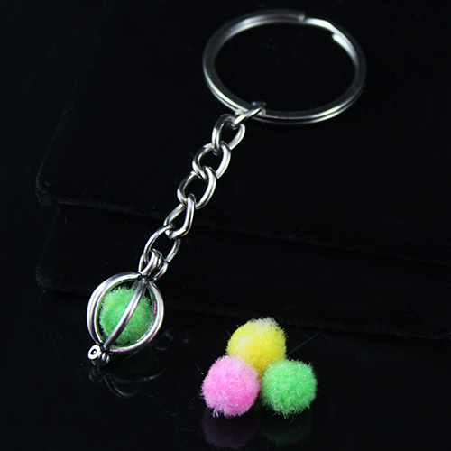 20x15MM Ball Diffuser Locket keychain