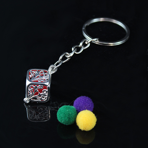 25x13MM Square Diffuser Locket keychain