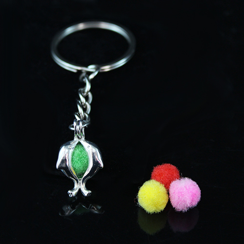 27x21MM Ball Diffuser Locket keychain