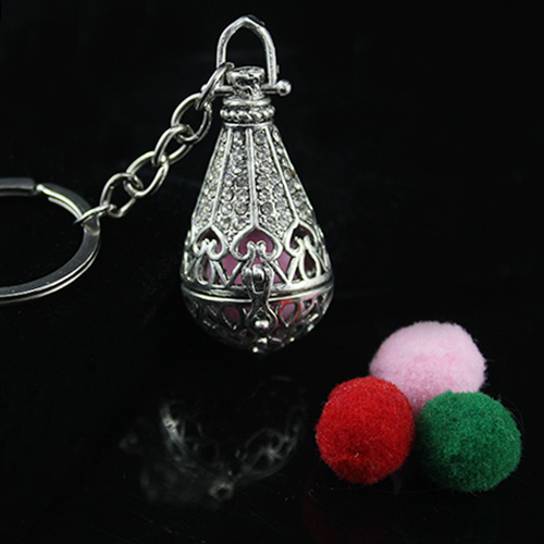 40x26MM Big Tear Drop Diffuser Locket keychain