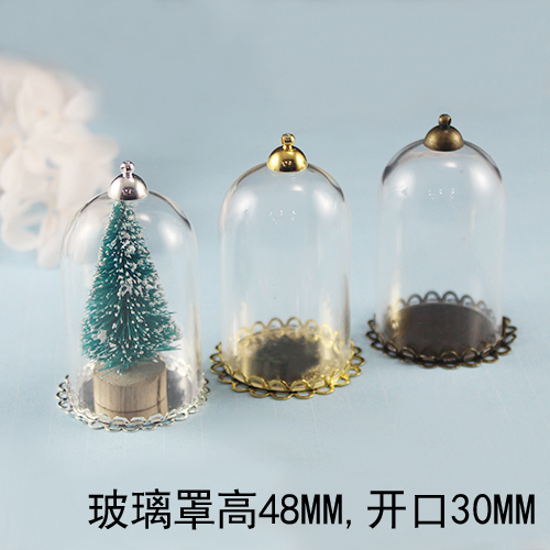 Cellphone Decoration Glass Perfume Bottle Cubic Zirconia
